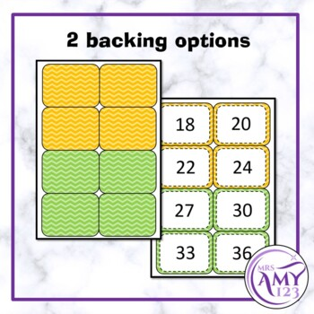 Multiplication/Times Table Flash Cards