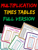 Math dollar deal - Multiplication Times Tables Wall Cards/Posters back to school