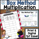 Multiplication Tips and Tools - The Box Method