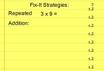 Multiplication Tips and Tricks Flipchart