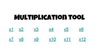 Multiplication Tool