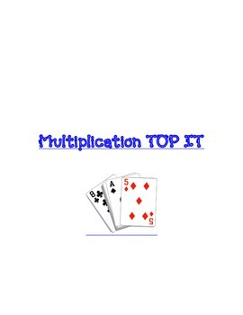 Multiplication Top It