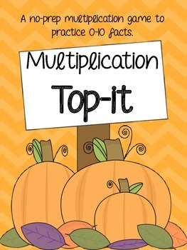 Multiplication Top-It