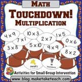 Multiplication- Touchdown!