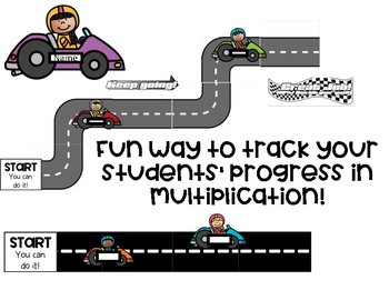 Multiplication Race Track