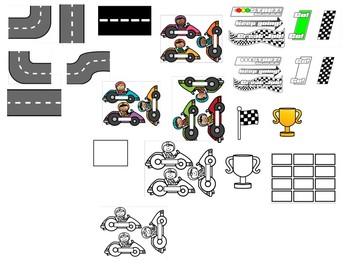 Multiplication Racetrack