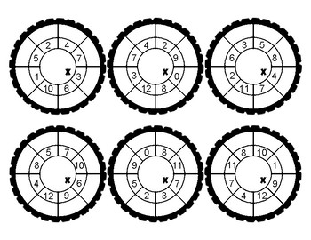 "Multiplication ""Training Wheels"" FREEBIE"