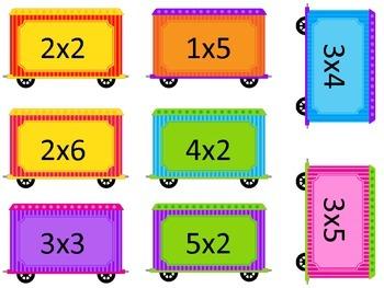 Multiplication Trains