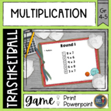 Multiplication Trashketball Math Game