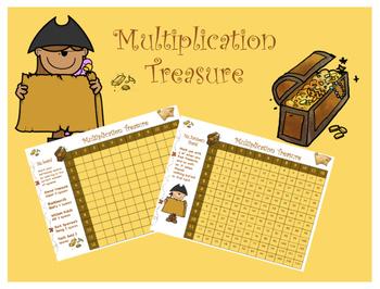 Multiplication Treasure