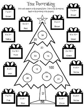Multiplication Tree Decorating