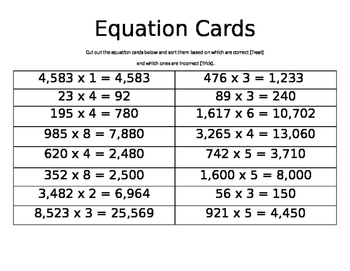 Multiplication Trick or Treat