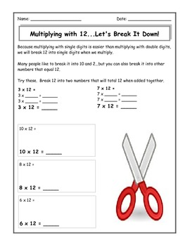 Multiplication Tricks: Fun Ways to Learn to Multiply 9,8,5,12
