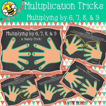 Multiplication Tricks - Multiplying by 6,7,8,9