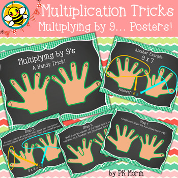 Multiplication Tricks - Multiplying by 9