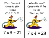 Multiplication Tricks with Flashcards