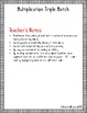 Multiplication Triple Match - Word Problem, Equation, Solution