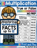 Multiplication: True or False