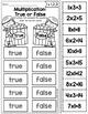 Multiplication: True or False