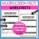 Multiplication Task Cards True or False? Prove It!