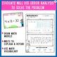 Multiplication Error Analysis Task Cards