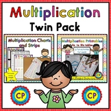 Multiplication Twin Pack - Strips and Printables