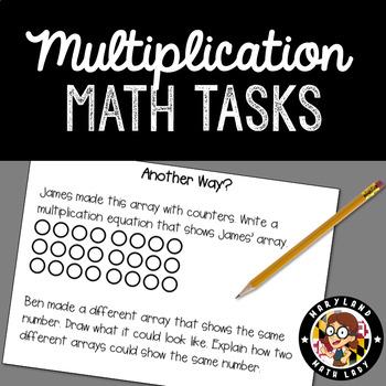 Multiplication Understanding - 10 Tasks Using Math Practices