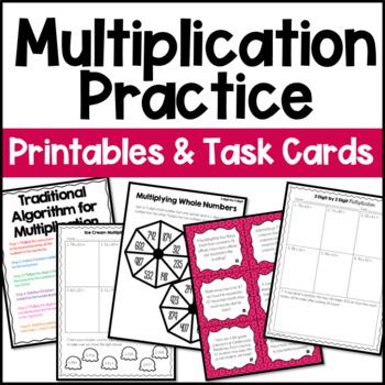Multiplication Unit (4th and 5th Grade Multiplication)