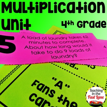 Multiplication Unit with Lesson Plans