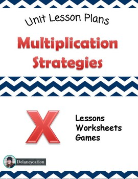 Multiplication Unit Lessons
