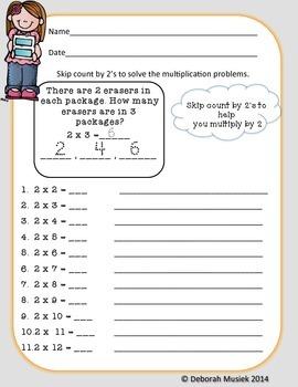 Multiplication Unit: Teaching Strategies of Multiplying