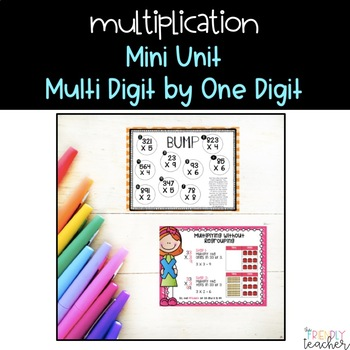 Multiplication Unit (multi-digit by one digit)
