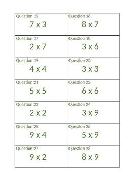 Multiplication Up-N-Go