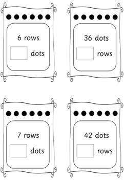 Multiplication: Using Arrays