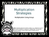 Multiplication: Using Arrays Powerpoint