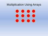 Multiplication Using Arrays Teaching PowerPoint