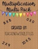 Multiplication Variety Pack GROWING BUNDLE 3.OA.1, 3.OA.3,