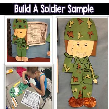 Multiplication Veteran's Day Craftivity