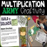 Multiplication Veterans Day Craftivity