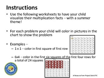 Multiplication - Visualize and Practice - Level Two