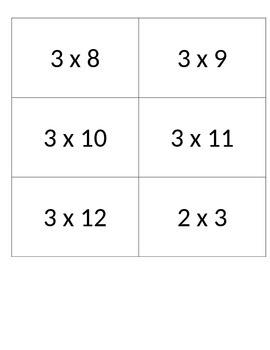 Multiplication War 0-4
