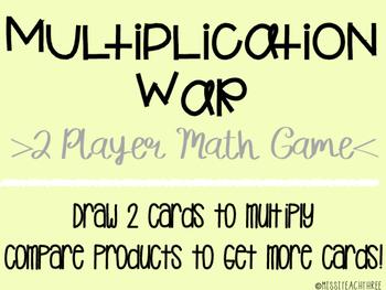 Multiplication War