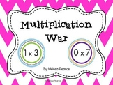 Multiplication War: A Multiplication Facts Game
