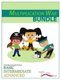 Multiplication War – BUNDLE – 3 Engaging Double-Digit Multiplication Math Games
