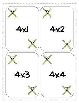 Multiplication War-Great Math Center Game!