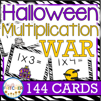 Multiplication War: Halloween