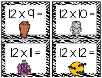 Multiplication War: Halloween