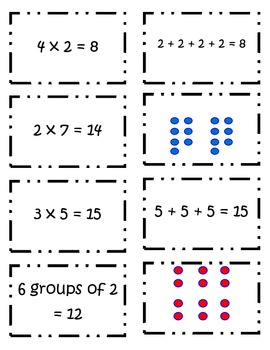 Multiplication War & Matching