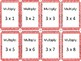 Multiplication War: Tables 1-12