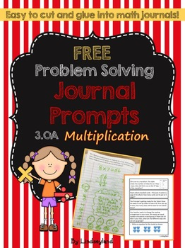 Multiplication: Problem Solving Journal Prompts 3.OA
